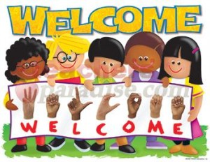 Learning-Materials--Chart-Sign-Language-Welcome-Trend-Kids--T-38266_L