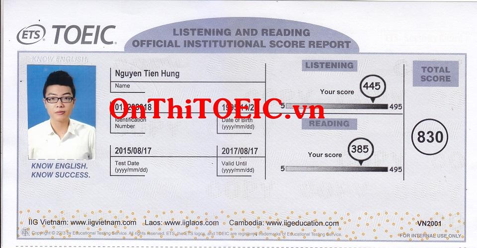 830 Nguyen Tien Hung 830