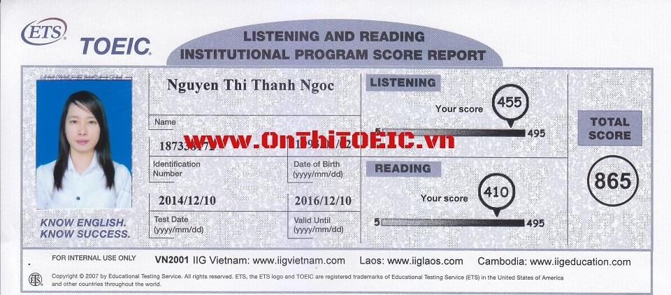 865 Nguyen Thanh Ngoc 865