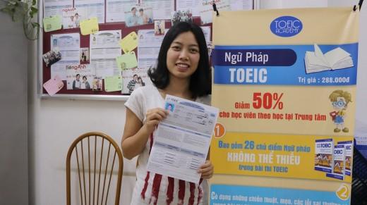 Vu Ngoc Thao 975 diem TOEIC