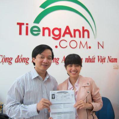 Cô học trò xì tin Phương Hoa với điểm số ấn tượng - 900.
